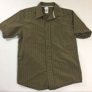 Men's The North Face Button Front Shirt Striped S
